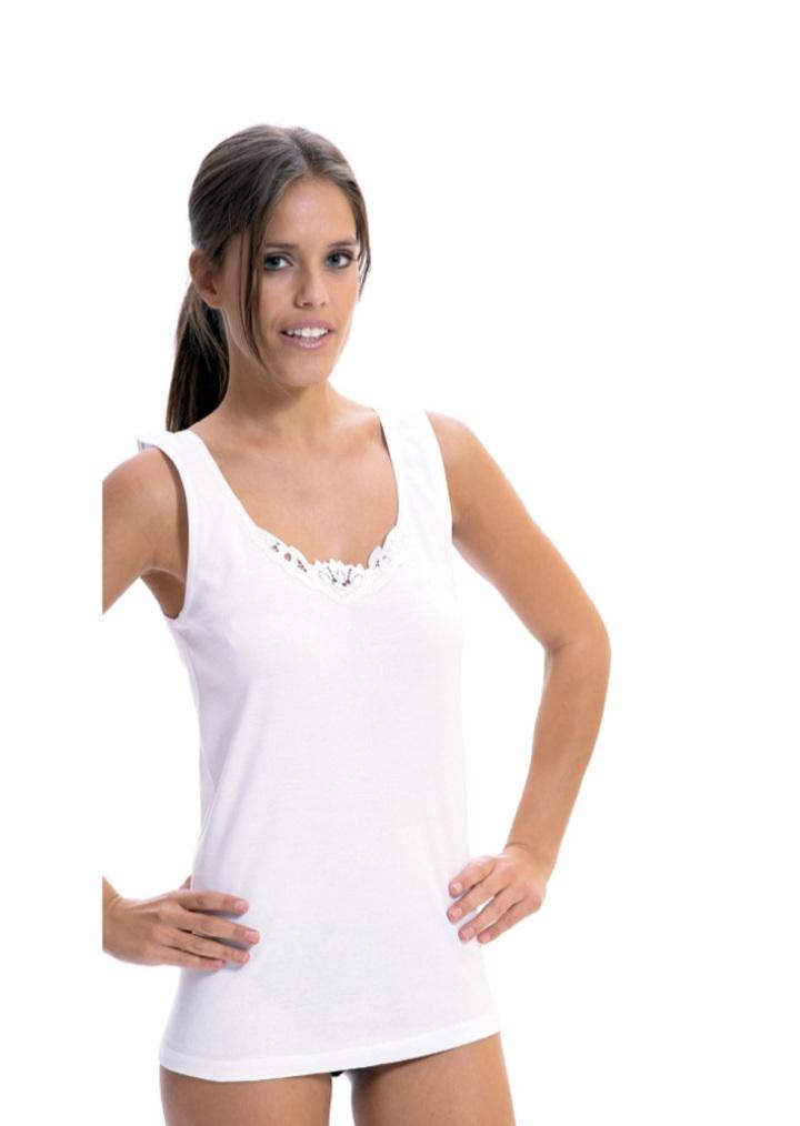 Camiseta de Algodón De Lara Katarina Home