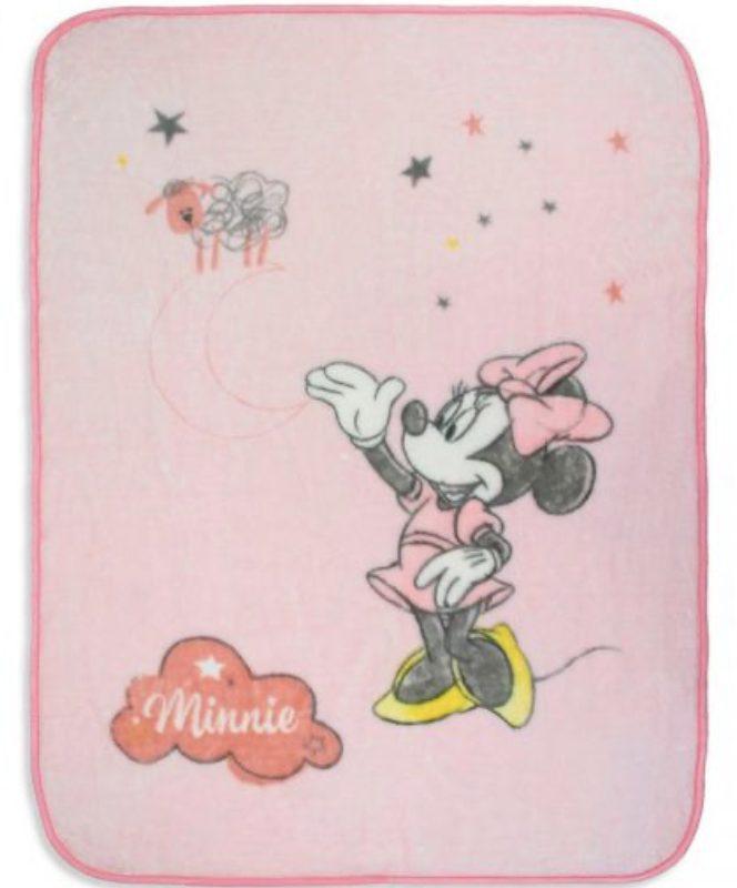 Manta de bebé Rosa Rachel de Minnie Katarina Home